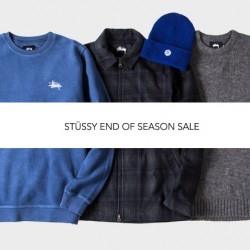 Stussy: End of Season Sale Up to 50% OFF