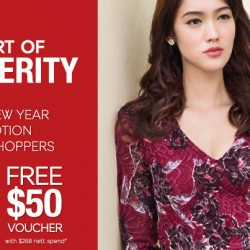 Marks & Spencer: Shop and Receive Up to $50 Gift Vouchers + $8 OFF For Members