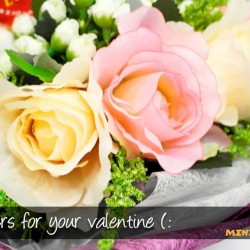 Rakuten: Purchase Flower Bouquet for Valentine's Day from Mini Toons with FREE delivery & FREE flower mug