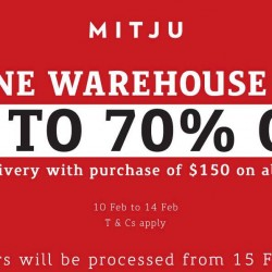 Mitju: Online Warehouse Sale Up to 70% OFF