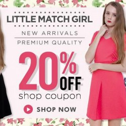 Little Match Girl: 20% coupon Discount & Free Delivery on Qoo10 shop