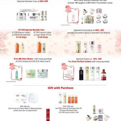 Dr Ci Labo: Free gift with just $80 nett spend + 30% Off on selected UV products