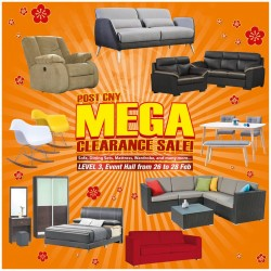 Big Box: Furniture Post CNY Mega Clearance Sale