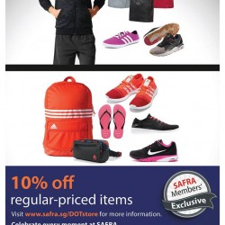Safra: Exclusive 10% off at DOT Singapore