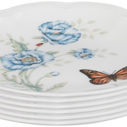 Amazon: Lenox Butterfly Meadow Party Plates, Set of 6
