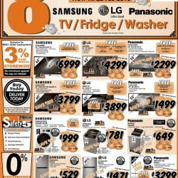 Best Denki: 8% OFF Samsung, LG, Panasonic TV, Fridge or Washer
