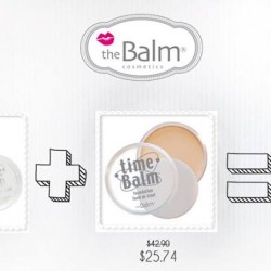 Sasa: 40% off when mix & match theBalm foundations & concealers