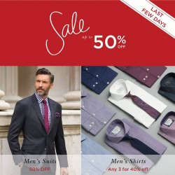 T.M.Lewin: Sale Up to 50% Off - Last few days