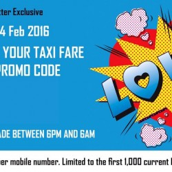 ComfortDelgro: $8 OFF Your Taxi Fare this Weekend