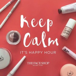 The Face Shop: 20% off regular-priced items between 7pm to 9pm daily