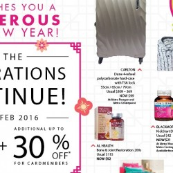 Metro: Post Lunar New Year Sale Up to 70% OFF + Additional Up to 30% OFF for Members