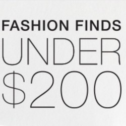 [Shopbop Coupon] Buy style products under $200