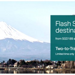 Cathay Pacific: Flash Sale to 14 Destinations from SGD189 All-In