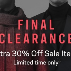 Farfetch: Extra 30% OFF Sale Price Items