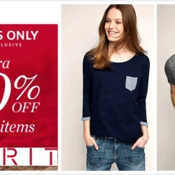Esprit: 12 Hours Online Exclusive Sale Extra 40% OFF All Sale Items