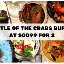 Parkroyal on Kitchener Road: Battle of the Crab Buffet at $99 for 2 adults