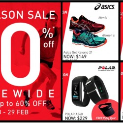 Running Lab: End Season Sale Up to 60% OFF