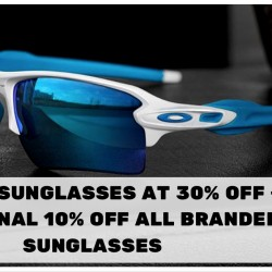 C.E.D.S Sportswear: 30% OFF Oakley Sunglasses + Additional 10% OFF All Sunglasses