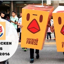 Burger King: FREE Chicken Fries at Raffles Place on 25 Feb 2016