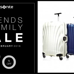 Samsonite: Friends & Family Sale Up to 70% OFF