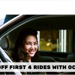 OCBC: $5 OFF First 4 Rides with Uber