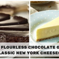 Starbucks: 1-for-1 Flourless Chocolate Ganache or Classic New York Cheesecake