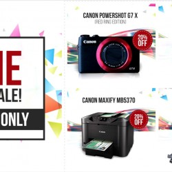 Canon: Leap Year Promotion Up to 20% OFF Compact Cameras and Printers