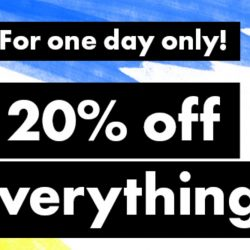 ASOS: Coupon Code for 20% OFF Every Single Thing!