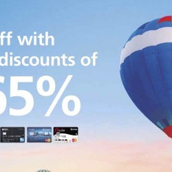 DBS: Online Travel Fair Up to 65% OFF