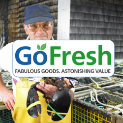 Go Fresh: Flat $10 OFF on orders over $40