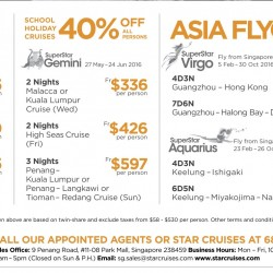 Star Cruises: 50% OFF All Persons on SuperStar Gemini