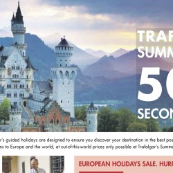Trafalgar: European Holidays Sale 50% OFF 2nd Guest