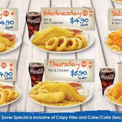 Long John Silver's: Daily Savers Special from $4.90