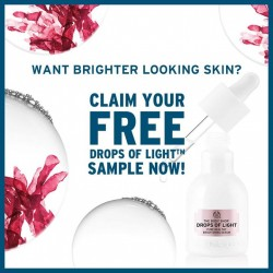 The Body Shop Singapore: Register to Get Drops of Light™ Pure Healthy Brightening Serum for FREE