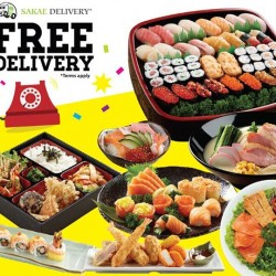 Sakae Sushi: enjoy 10% OFF and Free delivery @ Sakae Delivery