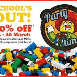 My Little Brick Shop: School Holiday Promotion --- 20% off regular priced items  and 10% off all consignments