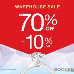 Sookee Jewellery: warehouse sale now on --- up to 70% OFF + 10% OFF storewide