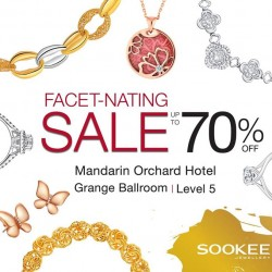 Sookee Jewellery: Annual Facet-nating Sale at Mandarin Orchard hotel --- up to 70% off plus additional 10% off on DBS/POSB cards