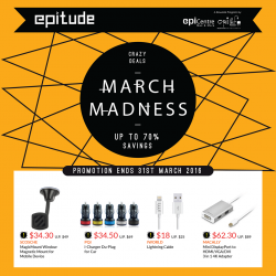 EpiCentre: SAVE Up To 70% on March Exclusives for Epitude Members