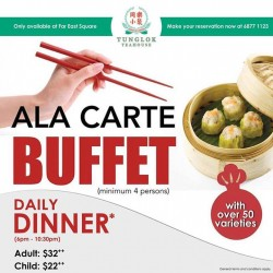 Tung Lok Seafood: Ala-Carte Buffet Dinner Promotion