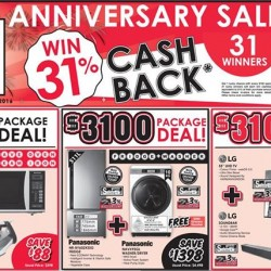 Best Denki: 31 Anniversary Promotion -- Up to 31% OFF Deals and Luck Draws