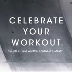 Nike Singapore: International Women's Day Special --- 38% off all Nike Women's Footwear and Apparel
