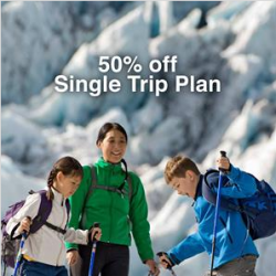 Standard Chartered: 50% OFF MSIG Enhanced Travel Protector Single Trip Plan