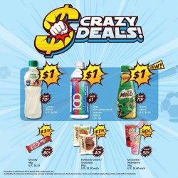 7-Eleven Singapore: CRAZY DEALS for the next 2 weeks!