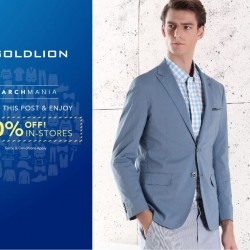 Goldlion: March 2016 Promotion --- 20% off all in-store regular-priced items