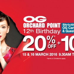 OG Orchard Point: 12th Birthday Private Sale for Members