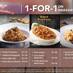 Pizza Hut Singapore: 1-for-1 weekday deals to celebrate 3rd anniversary