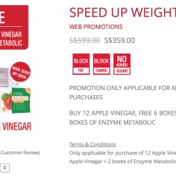 Xndo: 2 Free Enzyme Metabolic with One month package of 18 Apple Vinegars