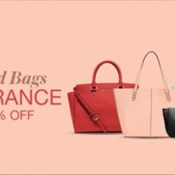 Lazada: Branded Bags Clearance Up to 60% OFF
