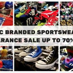 JLC: Branded Sportswear Clearance Up to 70% OFF